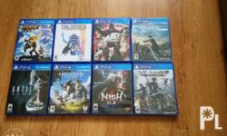 Selling PS4 games Ratchet and Clank 800 Until dawn 800