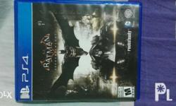 For sale ps4 games BATMAN ARKHAM KNIGHT GREAT GAMES