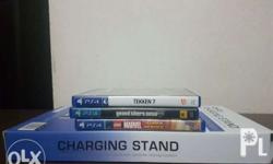 PS4 GAMES gta 5 - sold tekken 7 - 2100 ps4 charging
