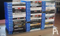 FOR SALE / TRADE / RENT Nba 2k14 Nba 2k15 Assassin's