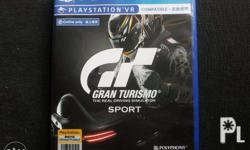 PS4 GRAN TURISMO Sport for Trade Only For Trade to the