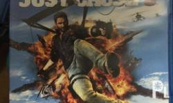 PS4 Just cause 3 R3 used code text or chat olx only