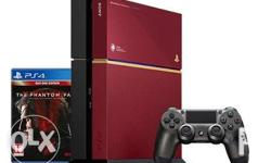 BRANDNEW Limited Edition 500GB PS4 that comes in a