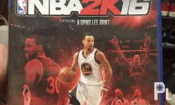 NBA 2k16 (Early Tip-Off Edition) For PS4 Brand New
