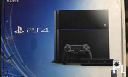 PS4 Unit 500gb CUH-1006A A01 complete with box rarely