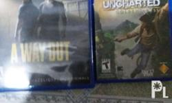 No issues or scratches A way out is SOLD Uncharted