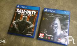 Selling or Trading PS4 Games: 800.00 -Shadow of Mordor: