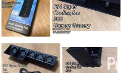 ps4 super cooling fan 500 pm me on facebook for more