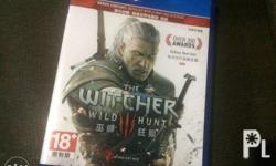 For Sale PS4 Game: The Witcher III: Wild Hunt R3 with