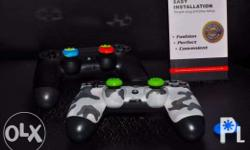 ps4 thumb grips (10dots) - 150 Ds4 Silicon Cover - 350