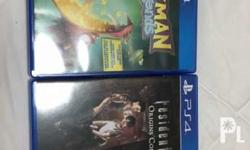 PS4 games semi new 2 times used only rayman and