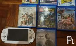 psvita for sale bundle with 7games. negotiable depende