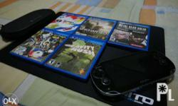 Playstation Vita (Fat Version) Ver. 3.60 + 5 PS Vita