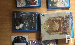 The following games below are for sale : God of War R1