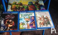 PS Vita games for sale or trade to PS4 games Ninja