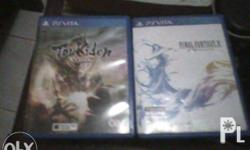Toukiden Kiwami with case and manuals and Final Fantasy