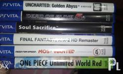 Selling PS Vita games PRICES are fixed DOA 5 Most