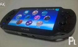 PS Vita Phat with Awesome Oled Screen Displays always