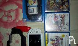 ps vita slim with 10 games and accessories 4gb mmc