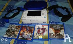 Ps vita slim 2006 white Package includes 32gb mmc 3.60