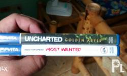 For sale 2nd hand ps vita title Most wanted Uncharted