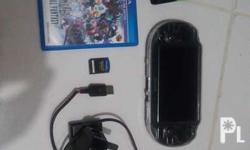 Ps vita Update Firmware 3.63 comes with charger, 8gig