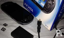 Selling my ps vita phat still in good condition. No