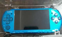 Psp 3000 color blue 98% smooth makinis pwede sa