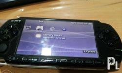 PSP 3001 with 8gb mem card 6.20 PRO B-10 with charger,
