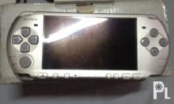 Selling My psp-3003 Mystic silver With Original charger