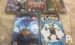 psp games in mint condition complete with box and