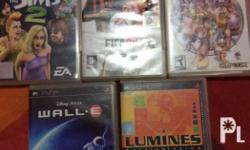 PSP Games Cartridge ORIGINAL at 250 each WALL.E The