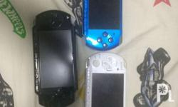 3 Psp for Sale Conditions: Black = for repairs nalang