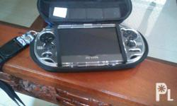 Psvita phat 3gwifi oled screen... With hard pouch and