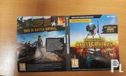 I'm selling 1 copy of pubg playerunknown's