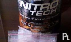 it is a nitrotech protein is pure protein per pack