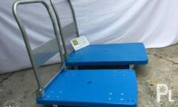 Folding Plastic Pushcarts Brand new, very sturdy and
