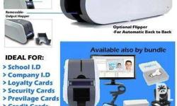 Smart 51S PVC iD Printer with design and database