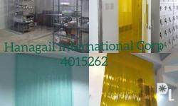 Pvc strip curtain Supply and Free Install