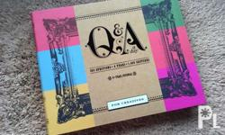 Q&A a day for creatives New, no folds, creases, nor