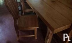 For sale quality dining set 8 seaters made from
