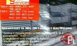 All galvanized Mig welded which is heavy duty Special