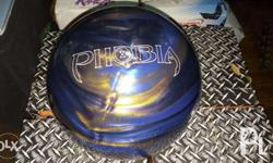 For sale used bowling balls from US. Hammer Phobia