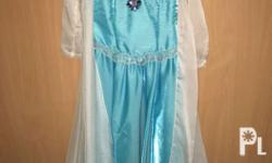PreOwned Queen Elsa Costume Brandnew, couture made,