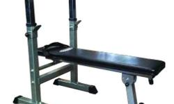 weight bench compact fodable convertible to sit up