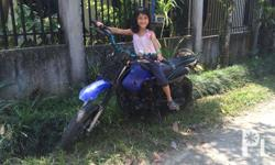 Racal GY 125cc Modified 14 inch Rims, oversized tyres