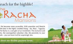 Racha Mansions is the newest addition to South Forbes