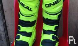 O'Neal mx 2017 rider boots.fresh from the US.. sinukat