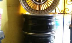 15's universal pcd 100/114, comes with tires 195/55/15