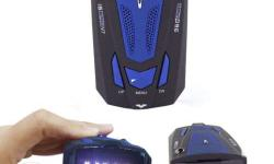 MULTI BAND RADAR DETECTOR, WITH VOICE ALERT, City and